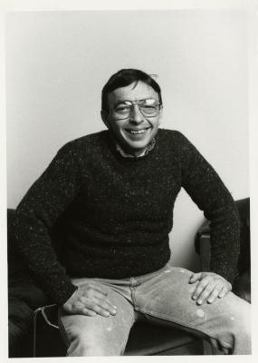 John Sosnowski, seated portrait