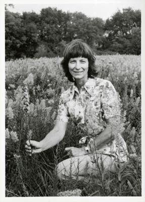 Pat Armstrong in Schulenberg Prairie
