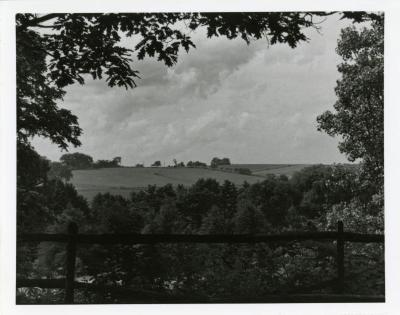 View looking northwest from Ridge Road overlook