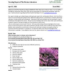 Plant Health Care Report, Issue 2016.2