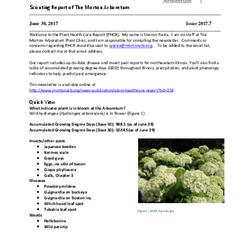 Plant Health Care Report, Issue 2017.7