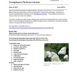 Plant Health Care Report, Issue 2017.6