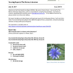 Plant Health Care Report, Issue 2017.9