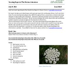 Plant Health Care Report, Issue 2016.9