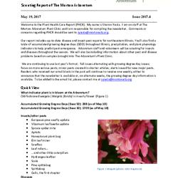 Plant Health Care Report, Issue 2017.4