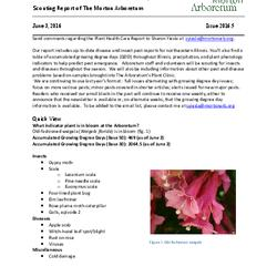 Plant Health Care Report, Issue 2016.5