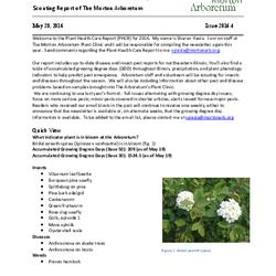Plant Health Care Report, Issue 2016.4
