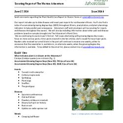 Plant Health Care Report, Issue 2016.6