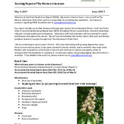 Plant Health Care Report, Issue 2017.3