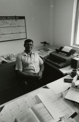 Jerry Wilhelm in office