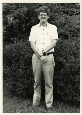 Peter van der Linden, outdoor portrait