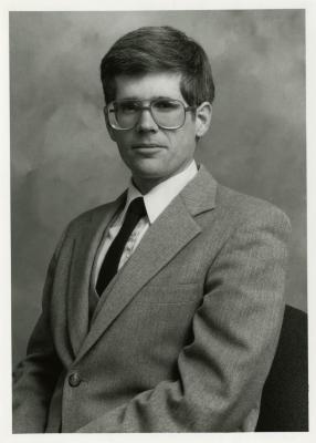 Peter van der Linden, seated portrait