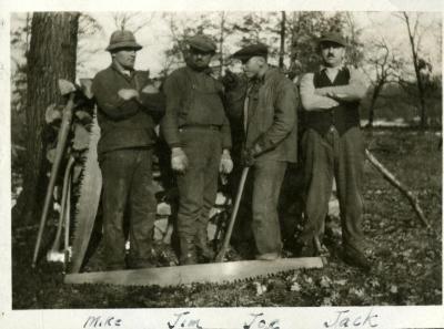 Early Arboretum laborers