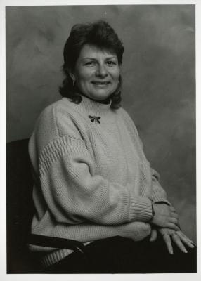 Fay Wheatman, seated portrait
