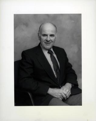 Dick Wason, seated portrait