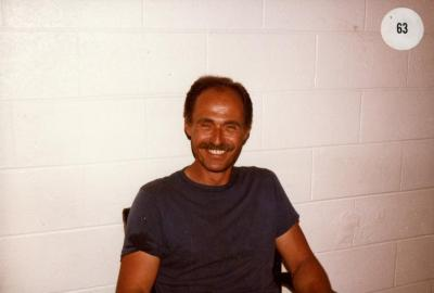 Bill Bergmann, seated portrait