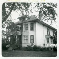 South Farm house, originally Jeffrey Farm residence