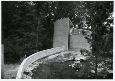 Cricket Hill, construction of tower