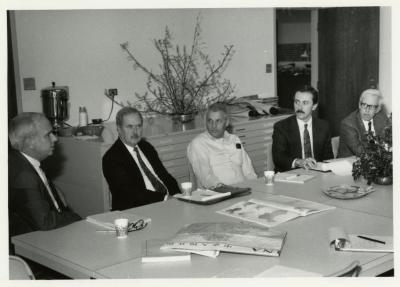 American Association of Botanical Gardens and Arboreta (AABGA) group meeting at The Morton Arboretum Herbarium Conference Room