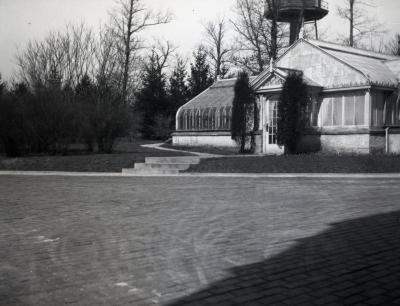Morton residence greenhouse