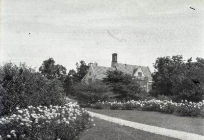 Joy Path and Morton residence